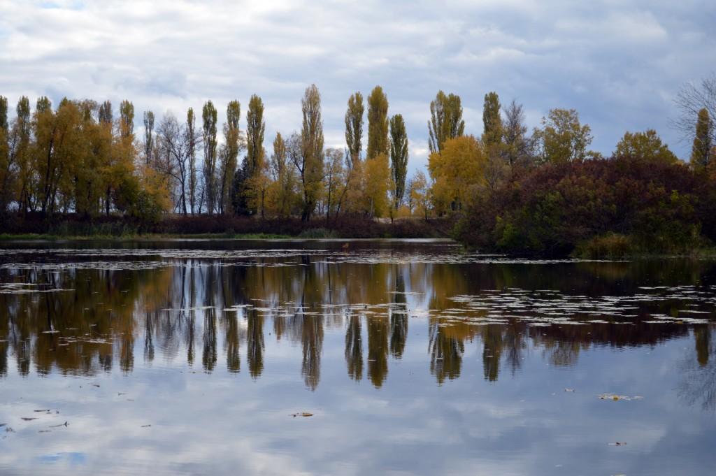 осень, Десна